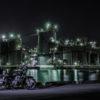 CD125Tで工場夜景を撮りに行きました