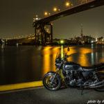 CB1100 天草ツーリング その⑧ 最終回 オートバイと夜景