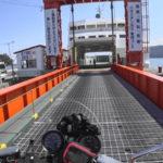 CB1100 天草ツーリング その⑥ 島鉄フェリー