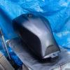 CB1100 燃料タンク塗装 その⑨ 失敗からの上塗り塗装編