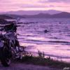 CB1100 夜明け前の海岸へ