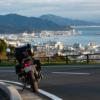 CB1100 早朝の薩埵峠から日本平へ  静岡ツーリング その⑨