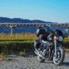 CB1100 大井川に架かる蓬莱橋へ  静岡ツーリング その⑩