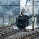 CB1100 大井川鐵道新金谷駅へ  静岡ツーリング その⑪