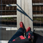 CB1100 高所恐怖症なのに吊橋を渡る  静岡ツーリング その⑬