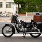 CD125T バイク女子のインカムが・・・  江田島 呉ツーリング その⑦