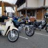 CD125T 原二軍団集合!バイク女子遅刻  新春離島ツーリング その①