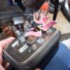 CD125T 2号機 メーターの配線とヘッドライト