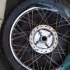 CD125T 前後タイヤ交換