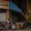 CD125T  古い商店街・・・   北九州フォトツーリングその②