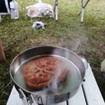 キャンプの朝ごはんは満腹 CD125T 秋の別府キャンプツーリング その⑤
