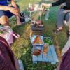 ソフトクリームとバーベキュー CD125T 秋の別府キャンプツーリング その④