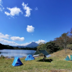 ここをキャンプ地とする・・・ CD125T 秋の別府キャンプツーリング その③