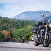 大山を見て帰宅  CB1100 北陸信州ツーリング その⑫ 最終話