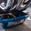CB1100 エンジンオイル交換と油温計センサーの移設  前編