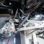 ブレーキペダル修理完了 CB1100 転倒からの復活プロジェクト第4弾 その⑤