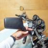 CB1100 転倒からの復活プロジェクト第二弾 ミラー交換の巻