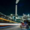 四国中央市の工場夜景 CB1100 真夏の愛媛ツーリング その⑩
